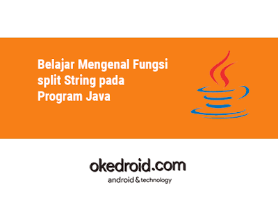 Contoh Fungsi Method split() pada Program Java