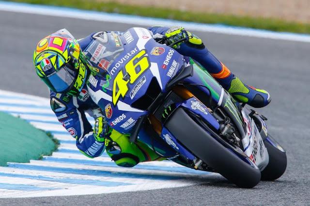 Rossi Terlihat Lebih Santai Mengaspal di Sepang