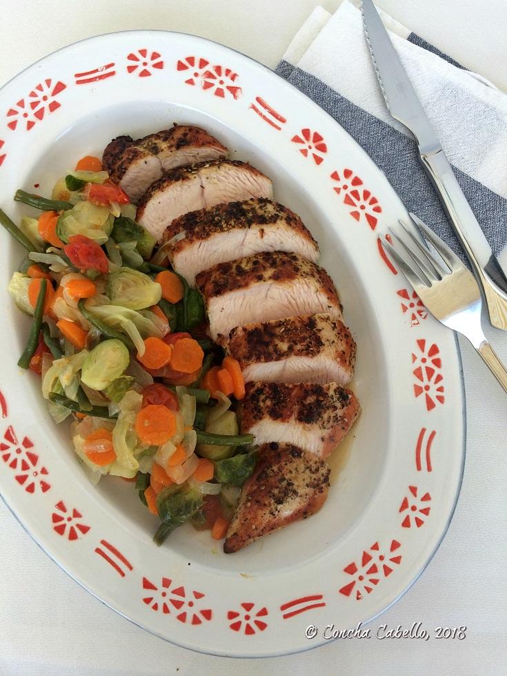 solomillo-pavo-raselhanout-verduras