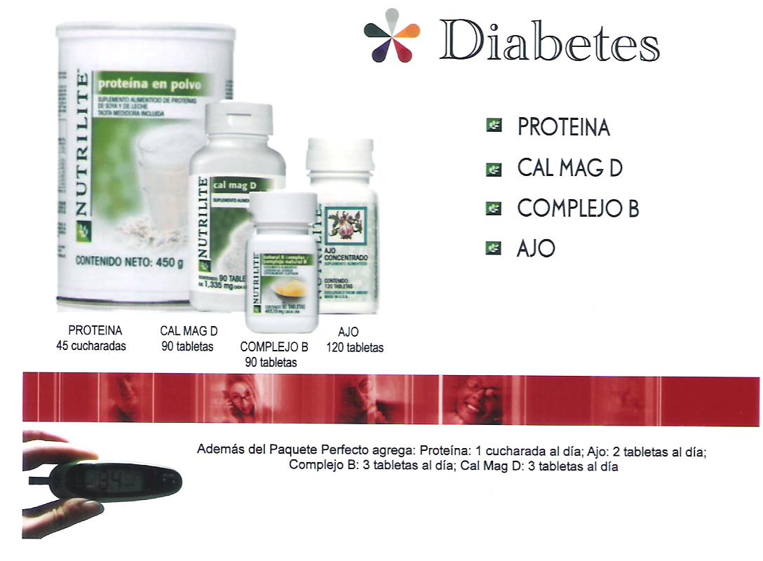 productos amway para diabetes