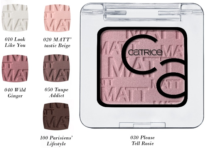 CATRICE Art Couleurs Eyeshadow matte