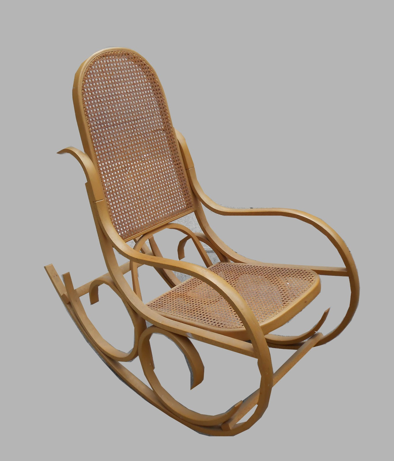 Bent Wood Rocking Chair Hanging Chairs Clear Plastic Uhuru Furniture And Collectibles Thonet Style Bentwood