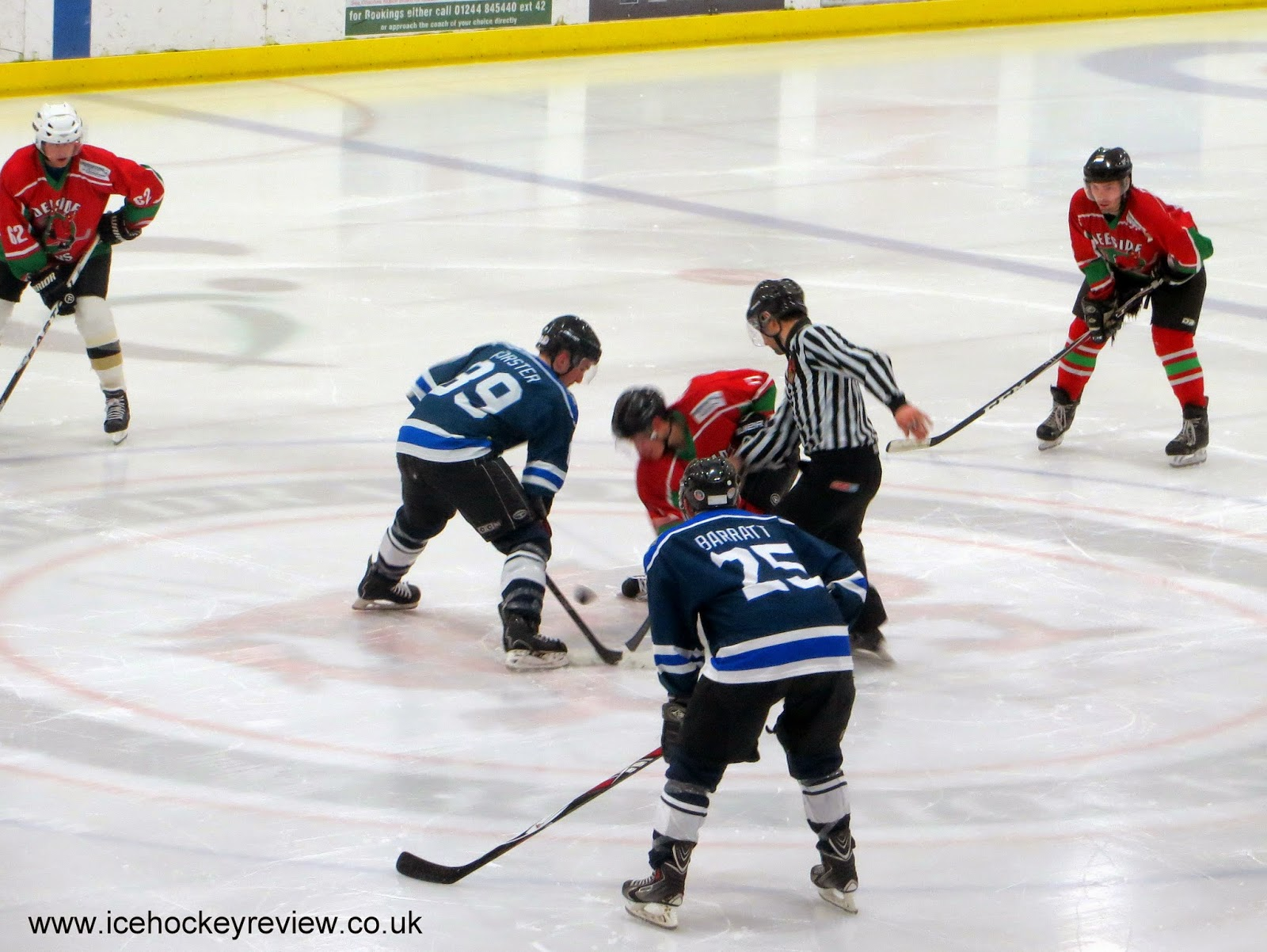 Ice Hockey Review: NRIH Cup: Deeside Demons 1 - Sheffield ...