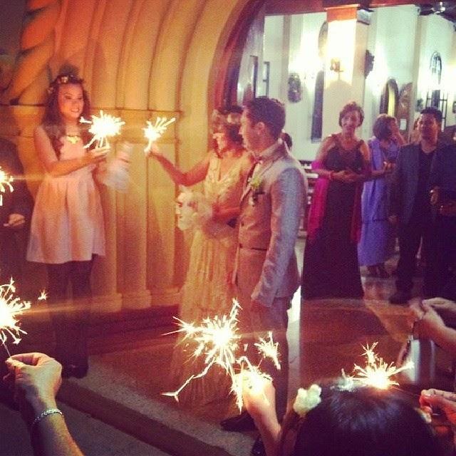 La boda bohemia de Carlos y Ana