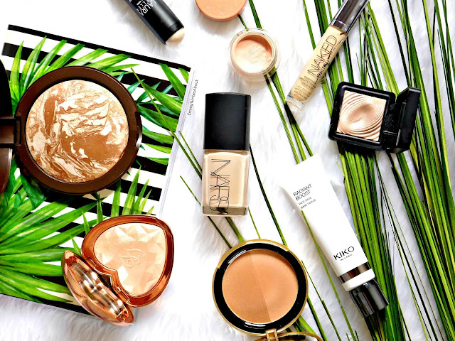 radiant glowing makeup products