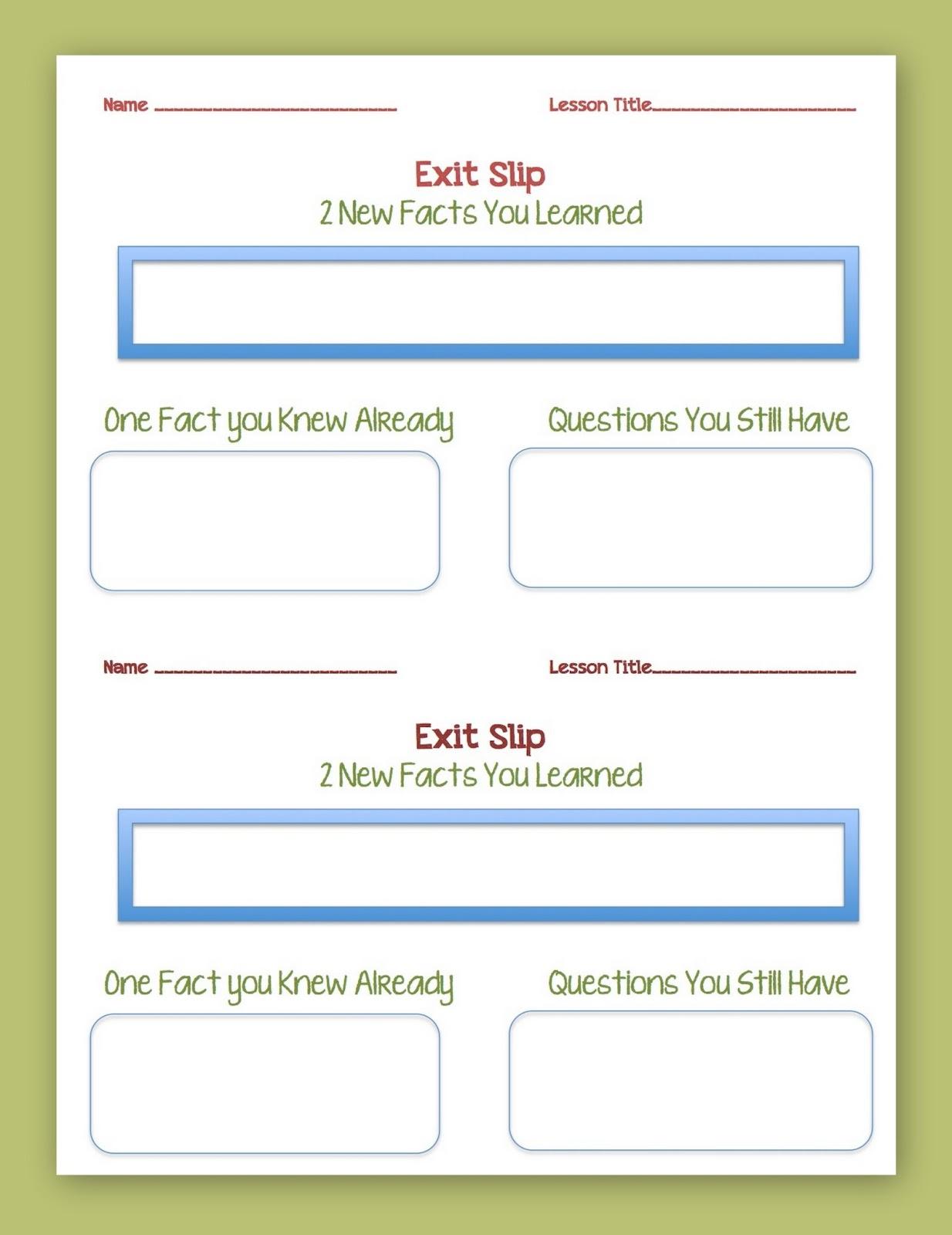 Tween Teaching Printable Worksheets