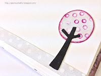 wykrojnik drzewo z wykrojnika pomysł galeria schaffar ręcznie robione kartki producent galeria Schaffar