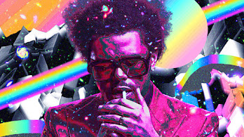 The Weeknd, Colorful, Art, 4K, #4.3141