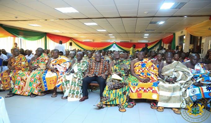 President Akufo-Addo Announces Massive Road Development For Western Region