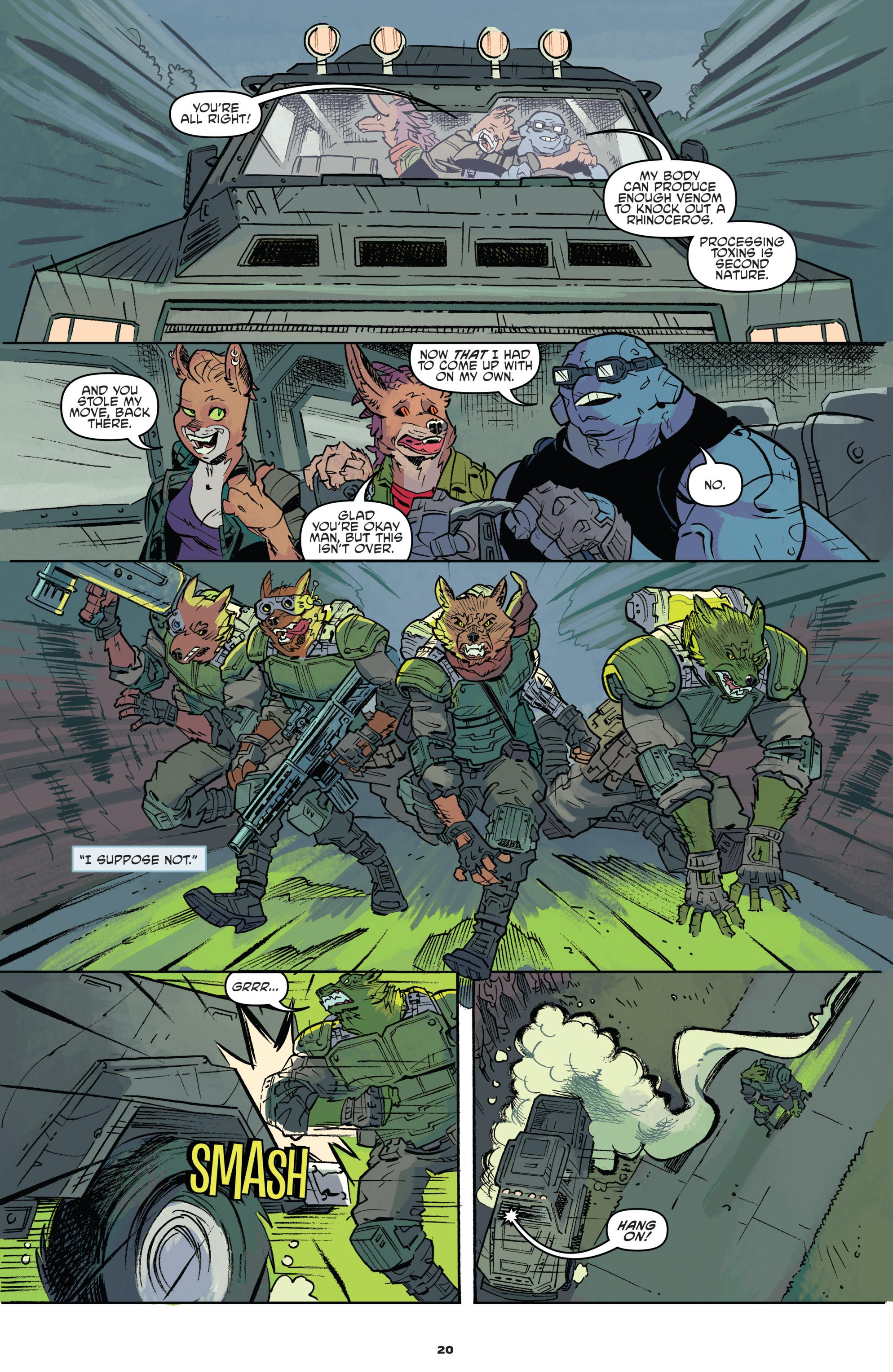 Read online Teenage Mutant Ninja Turtles Universe comic -  Issue #11 - 22