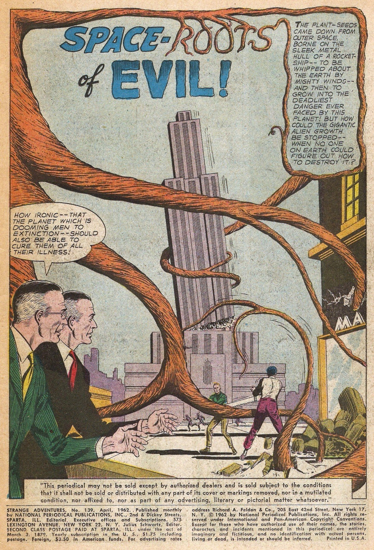 Strange Adventures (1950) issue 139 - Page 3