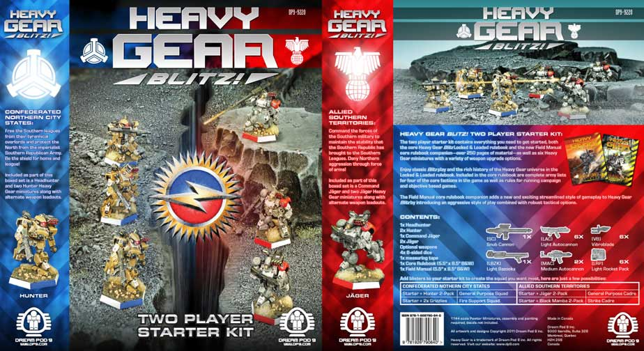 Empire of Ghosts: Product Review: Heavy Gear Blitz! 2 ...