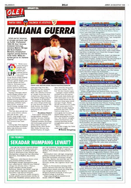 LFP VALENCIA VS ATLETICO MADRID ITALIANA GUERRA