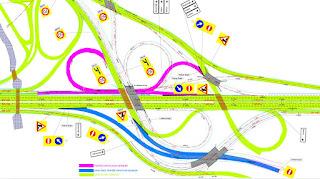 Çayırova Kavşağı 3. Etap Trafik İşaretleme Projesi