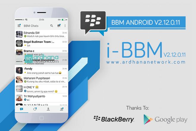 i-BBM V2.12.0.11 - BBM Android Tema iPhone