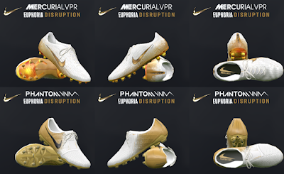 PES 2017 Nike Euphoria Disruption Pack 2019 by Tisera09