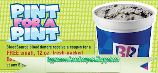 Free Printable Baskin Robbins Coupons