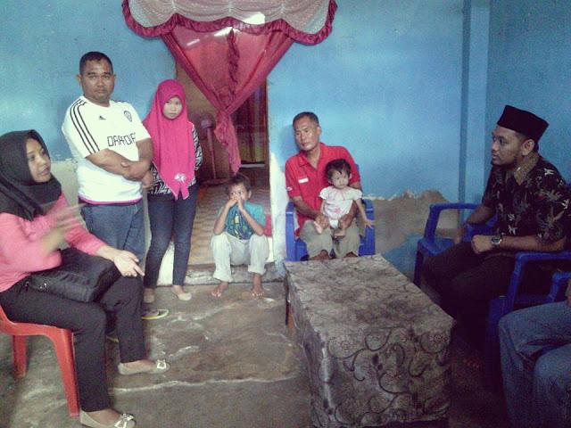 Jenguk Penderita Gizi Buruk, Wawali Palopo Siap Berikan Perhatian Khusus