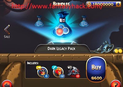 Download Free Angry Birds Star Wars II Game Hack v3.2 Unlimited Credit Stack 100% working and Tested for IOS and Android