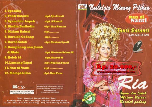 Ria - Tanti Batanti (Album Nostalgia Minang Pilihan)
