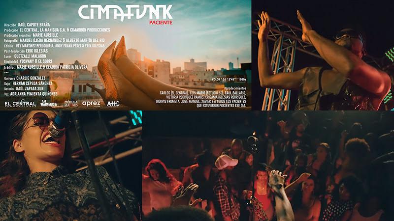 CIMAFUNK - ¨Paciente¨ - Videoclip - Dirección: Raúl Capote Braña. Portal del Vídeo Clip Cubano