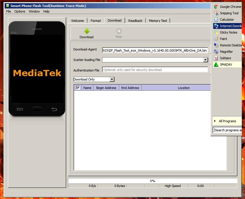 Novenblog: Download SP Flash Tool v5 1640 00 000 for windows