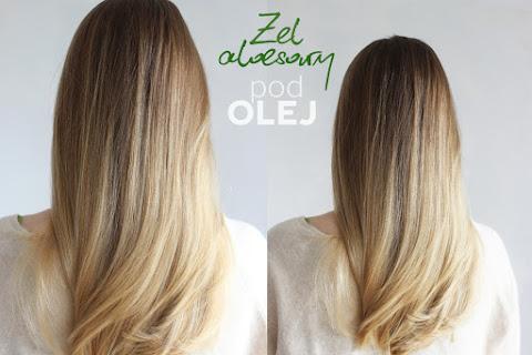 Olejowanie na żel aloesowy i aloesowa pielęgnacja włosów z Equilibra - czytaj dalej »