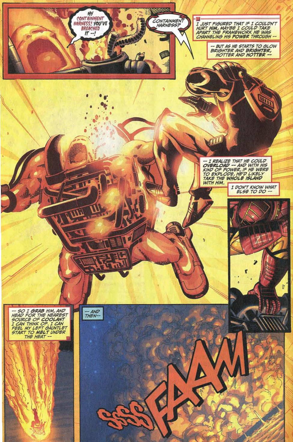 Comic Iron Man (1998) issue 8