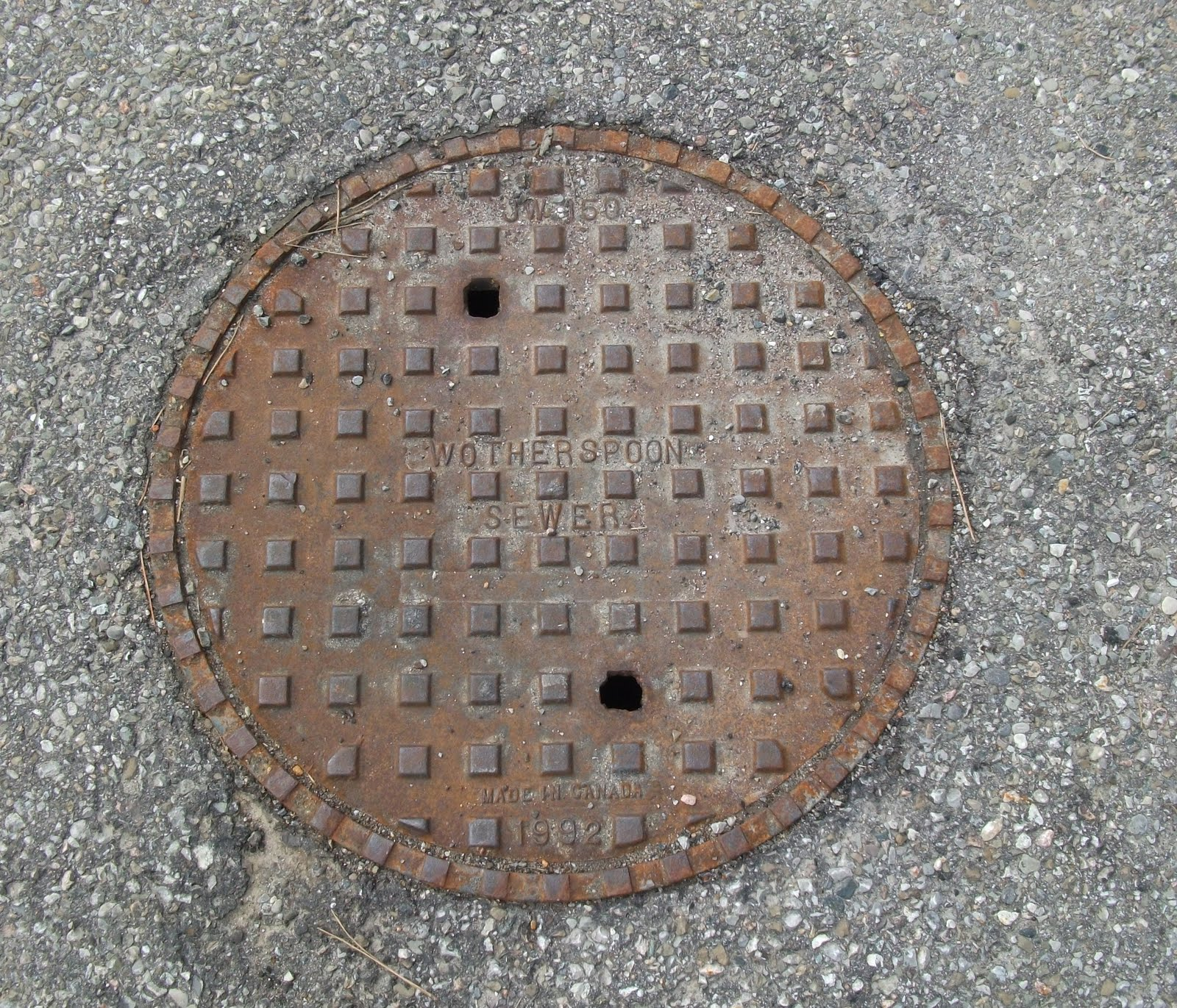 Random Thoughts Manhole Covers
