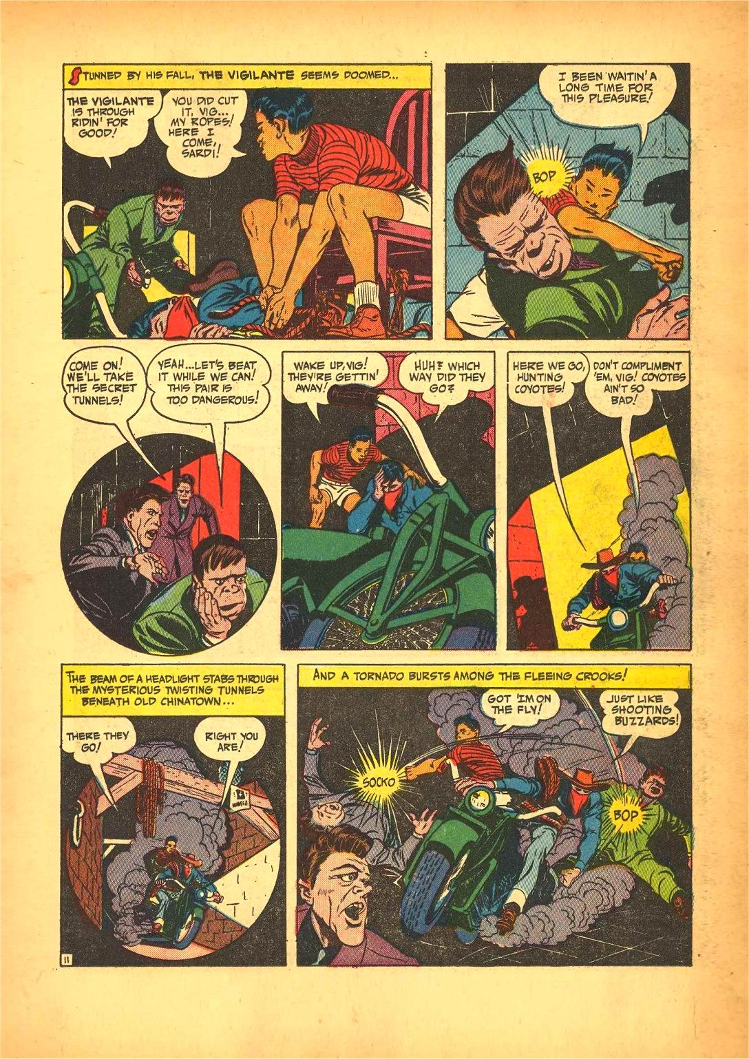 Read online Action Comics (1938) comic -  Issue #50 - 35