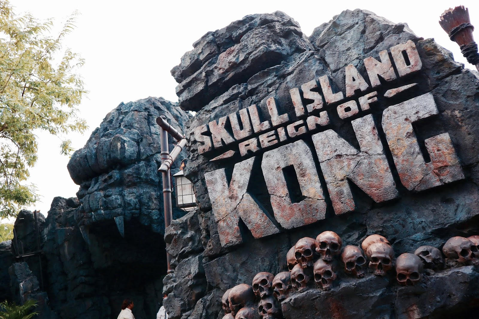 Image Of Reign Of Kong Ride Exterior Islands Of Adventure