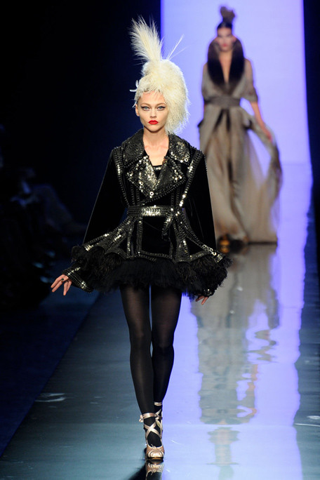Jean Paul Gaultier Fall-Winter 2011 / 2012 in The Paris Fashion Week