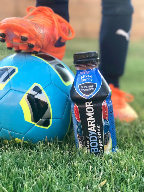 Refuel and hydrate athletes with BODYARMOR