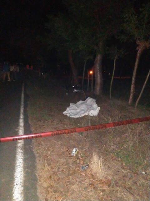 Un muerto y un lesionado en accidente