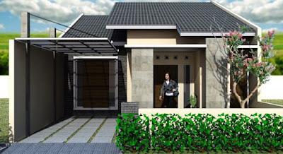 model atap rumah type 36 yang simpel