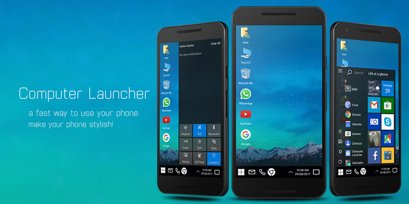 Computer Launcher App For Android Download Apk Free