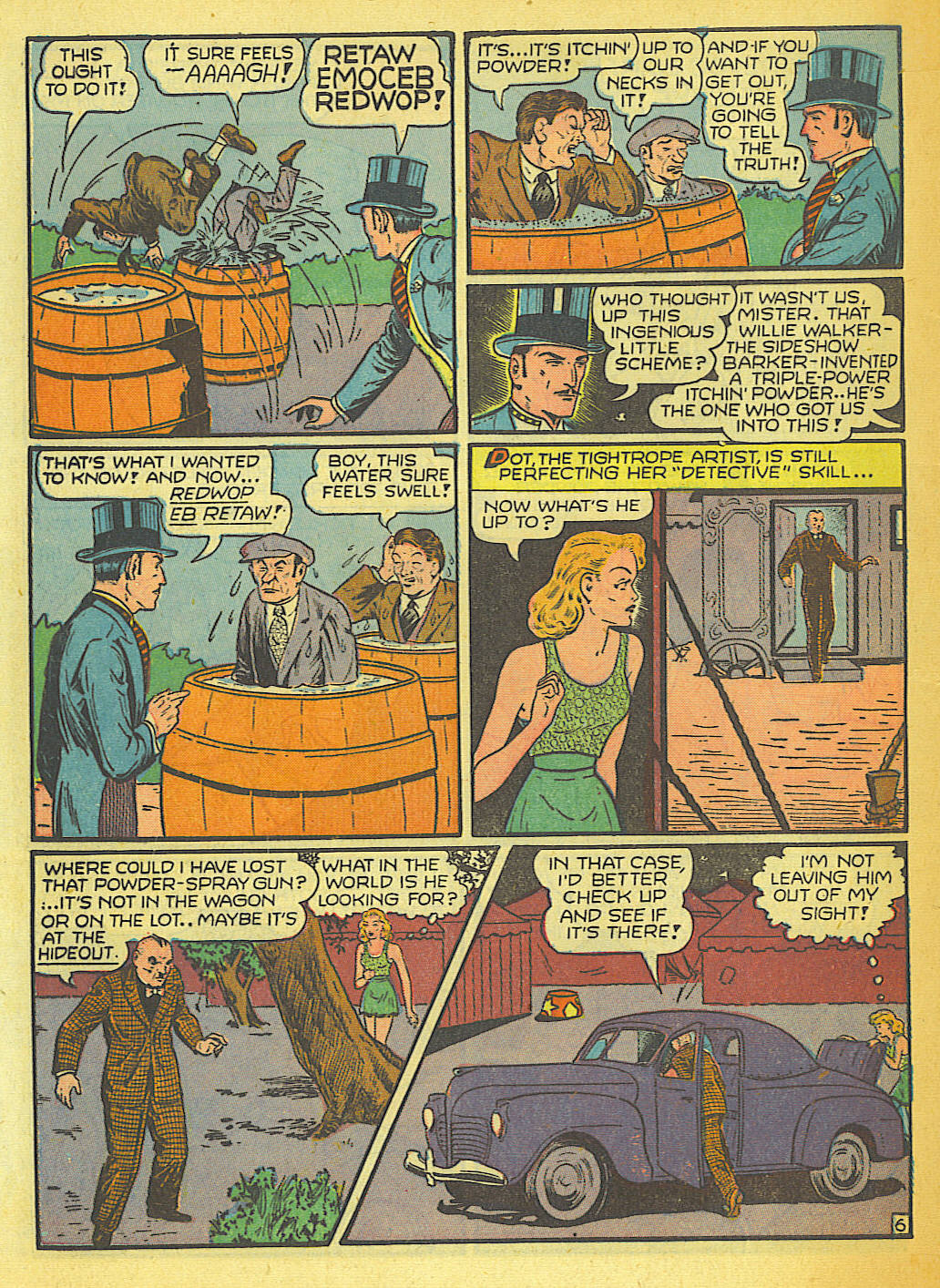 Read online Action Comics (1938) comic -  Issue #58 - 52