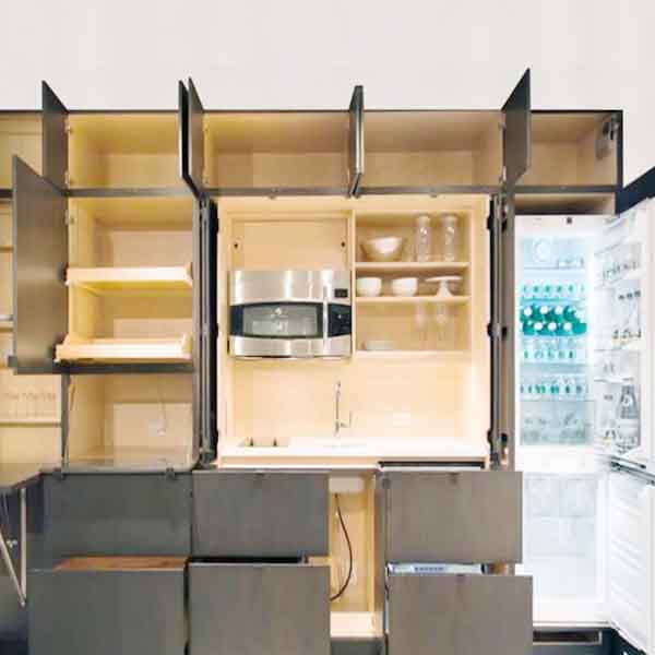 nội thất thông minh cho phòng bếp