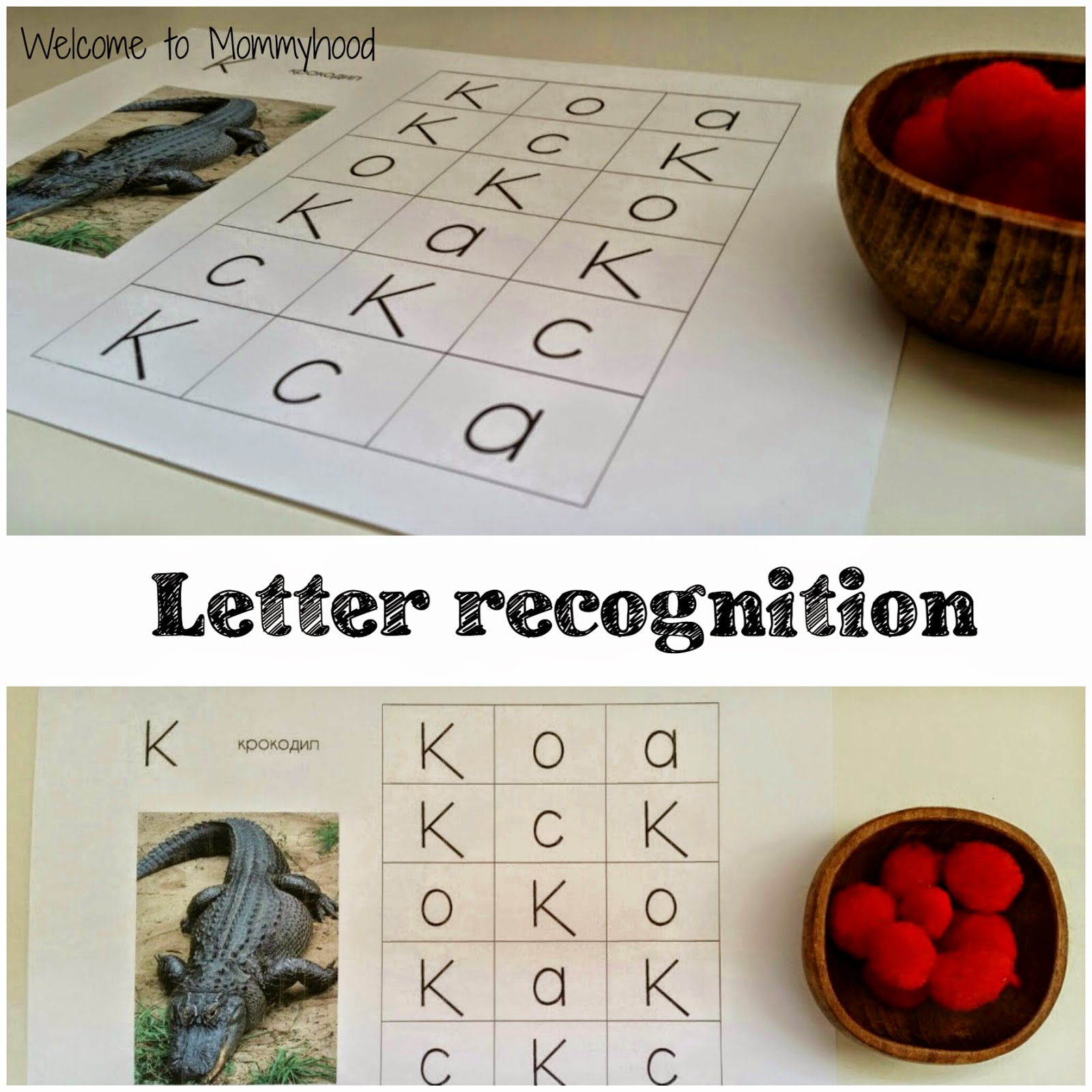 Montessori Activities & Free printable pack: letter C {Welcome to ...