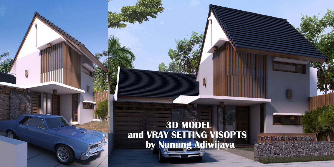 Sketchup texture sketchup vray tutorial and 3d model for Setting render vray sketchup exterior
