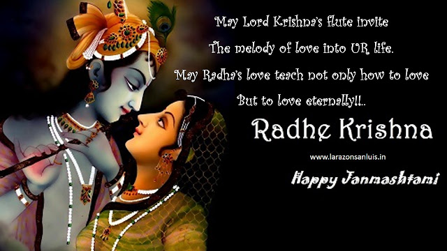 Happy Krishna Janmashtami Wishes Images in English