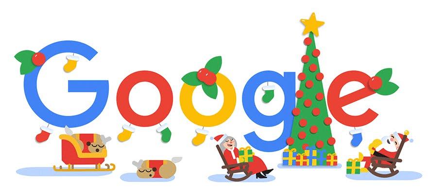 Buon Natale 2018: le festività con il Doodle Google.