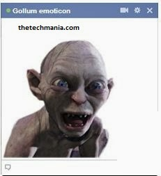facebook chat emotions Gollum :