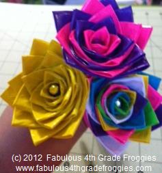 Classroom Diy Diy Duct Tape Flower Pens
