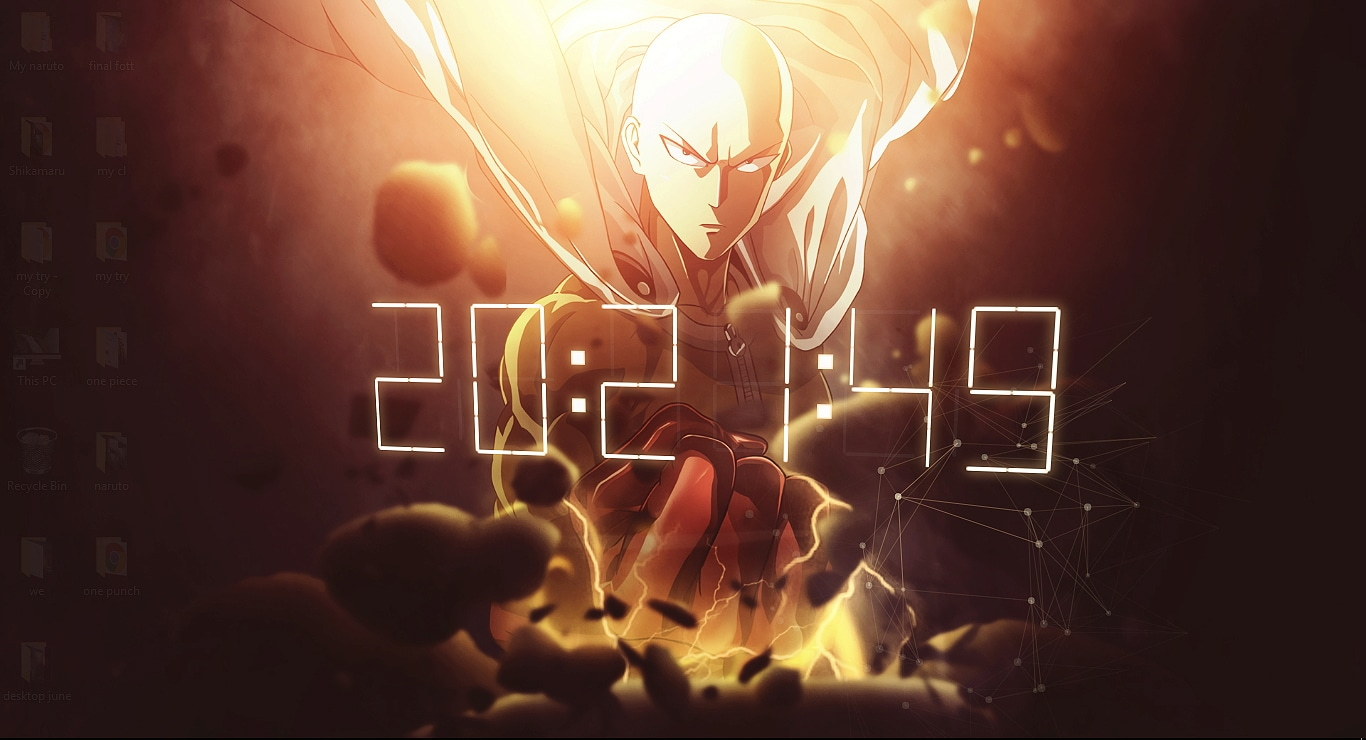 Anime 4k Wallpaper: One Punch Man Wallpaper Engine Free