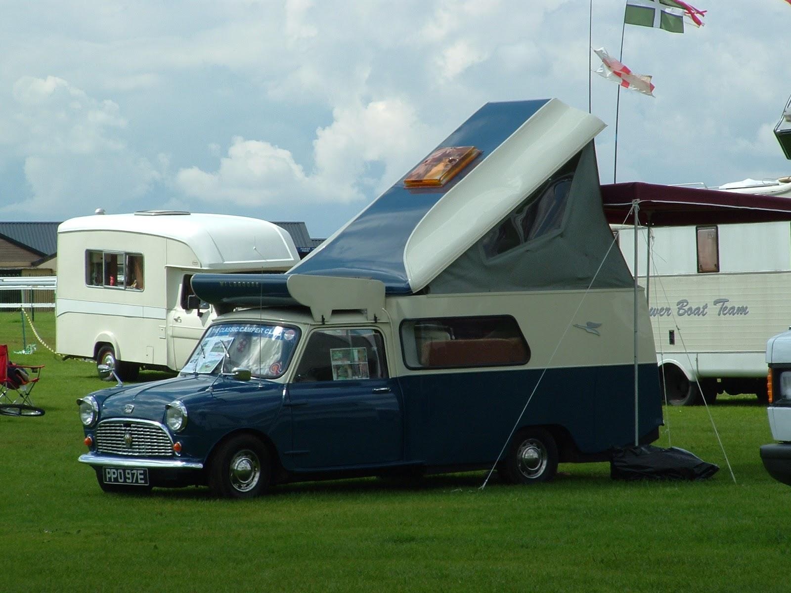 Classic 'micro' campervans