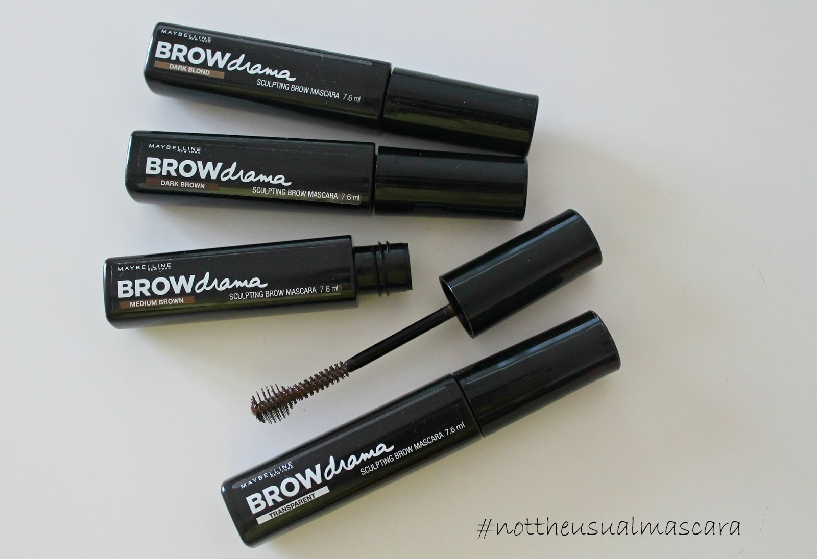 recensione brow drama maybelline