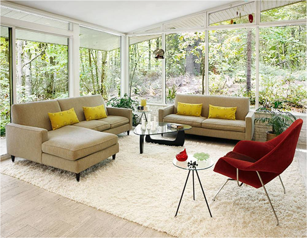 Mid-Century Modern Living Room Design Ideas | Home InteriorLover