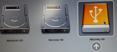 Boot From Recovery USB Drive