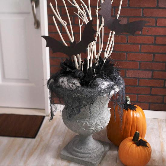 Elegant Halloween Decoration Ideas: Modern Furniture: Halloween 2013 Entry Decorations Ideas